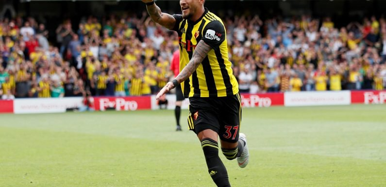 Watford 2 Brighton 0: Roberto Pereyra strikes twice as Hornets win opening Premier League game for first time in history
