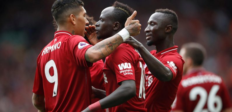 Liverpool's third goal against West Ham sends social media into meltdown with Sadio Mane clearly offside