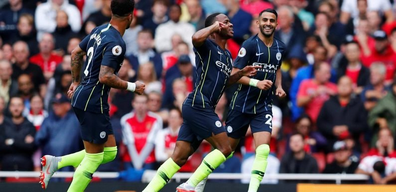 Arsenal vs Manchester City: Raheem Sterling hits back at World Cup critics with goal celebration