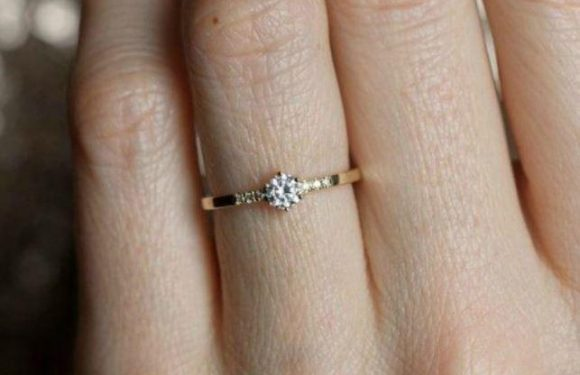 Bride-to-be slammed as ungrateful after she moans she's 'disappointed' with 'small' £1.3k diamond engagement ring