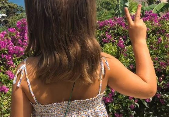 Victoria Beckham posts cute pic of Harper dressed up as a Spice Girl – but it's NOT Posh