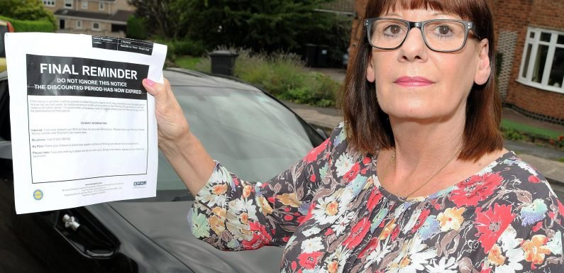 Disabled woman, 64, fined £100 and threatened with court order over parking ticket despite having Blue Badge
