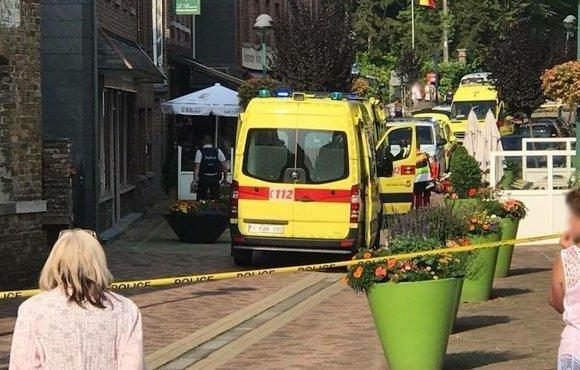 Two women dead after knifeman storms restaurant and stabs diners in Belgium