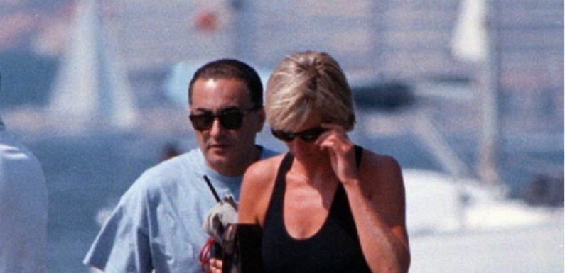 Princess Diana's Iconic USA Sweatshirt She Wore Days Before Her Death Is Up For Auction