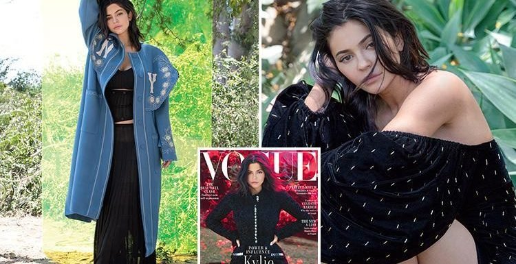 Kylie Jenner lands first Vogue cover and gets interviewed by sister Kendall as she reveals she can't bear to be apart from boyfriend Travis Scott for one night