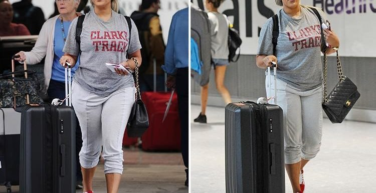 Natalie Nunn spotted at Heathrow airport as she jets into UK for CBB