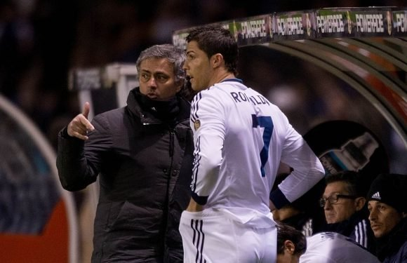 Mourinho didn't like what Ronaldo did in players' tunnel at Real Madrid