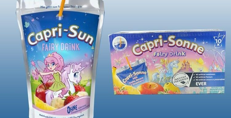 Capri-Sun has released magical fairy drinks…and all our wishes have come true
