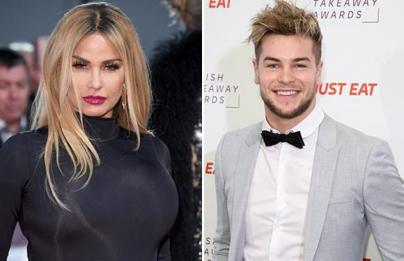 Katie Price and Chris Hughes are 'good mates' following feud as Love Island star admits he's forgiven her for outing his sexy texts behind Olivia Attwood's back
