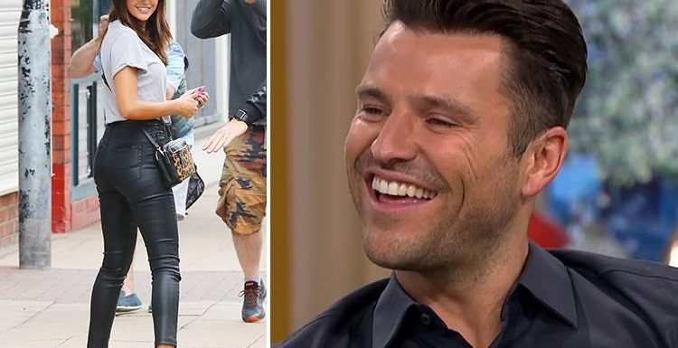Mark Wright congratulates wife Michelle Keegan on winning Rear of the Year as it's revealed he'll present This Morning with Mollie King on Friday