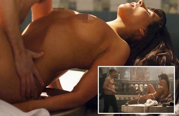 Celebrity Big Brother's Roxanne Pallett strips naked for ANOTHER raunchy sex scene in second low budget horror movie