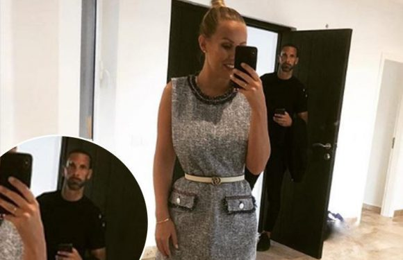 Kate Wright posts hilarious picture of 'evils shooting' Rio Ferdinand ruining her sexy selfie
