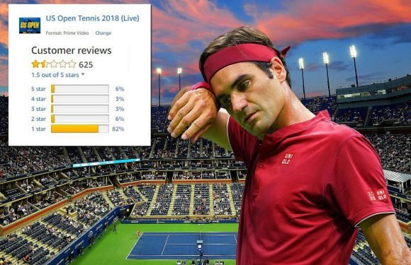 Amazon given hundreds of dire reviews for US Open coverage as fuming fans list multiple gripes