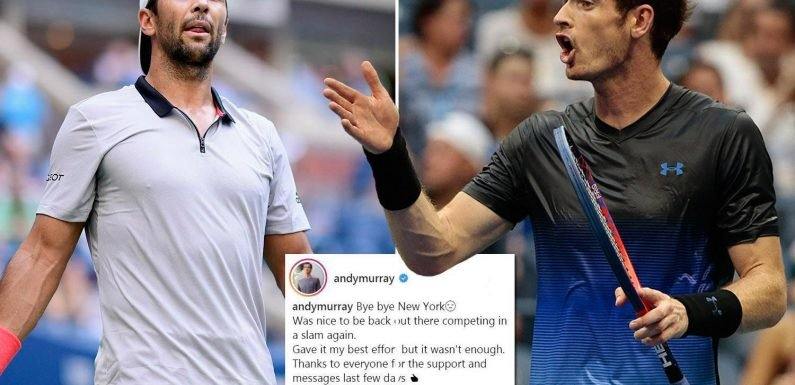 US Open: Andy Murray 'liar' fury at Fernando Verdasco for allegedly flouting coaching rules after Brit crashes out of Grand Slam in second round