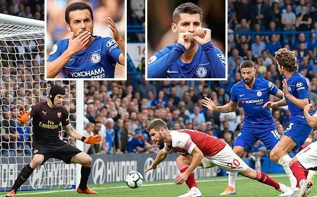 Chelsea 3 Arsenal 2: Marcos Alonso grabs late winner after Unai Emery's side fought back from 2-0 down