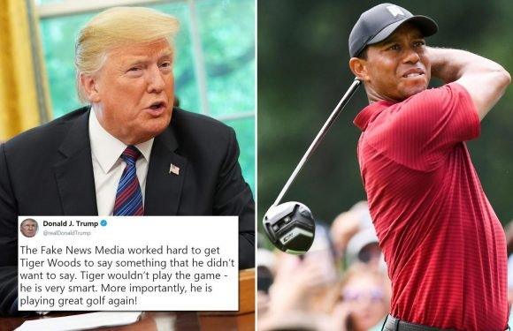 Tiger Woods defends close friendship with Donald Trump saying 'you have to respect the office'