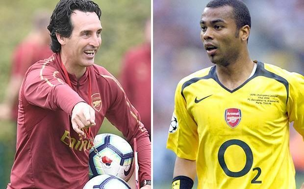Arsenal boss Unai Emery backed to come good by Ashley Cole despite losing first two Premier League games