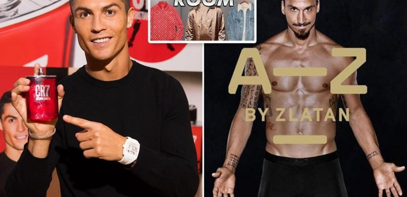 Footballers and their fashion labels: From Ronaldo to Ibrahimovic, superstar players who branched out with clothing lines