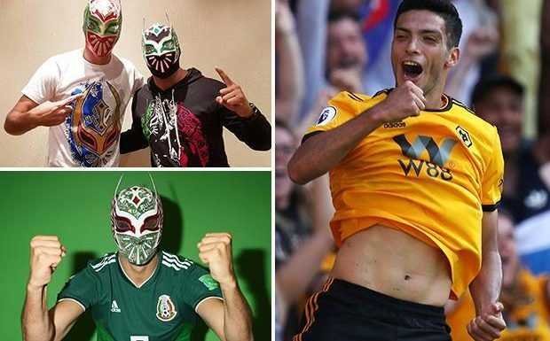 WWE fan Raul Jimenez aiming to lay SmackDown on Everton for Wolves in Premier League debut