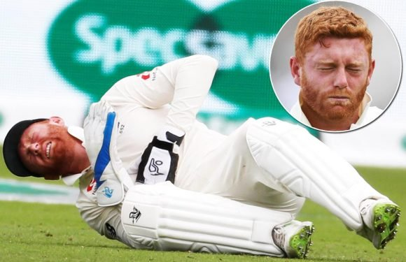 Jonny Bairstow close to tears as England star fractures finger after painful blow during India test