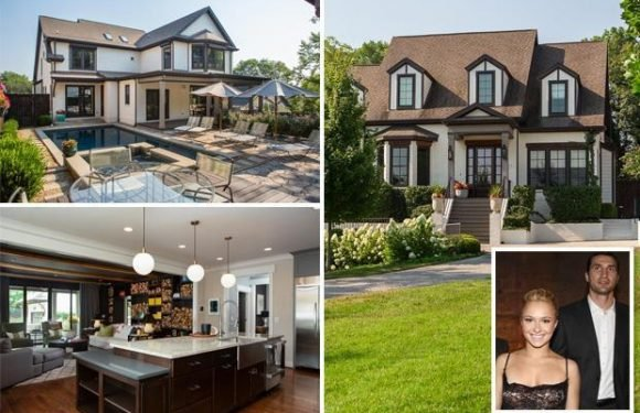 Hayden Panettiere selling luxury Nashville mansion complete with bulletproof windows and hot tub for £1.3million after split from boxing legend Wladimir Klitschko