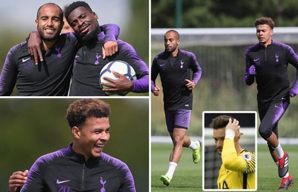 Tottenham manager Mauricio Pochettino calls on his players to break Old Trafford hoodoo as stars train without Hugo Lloris after drink-drive charge