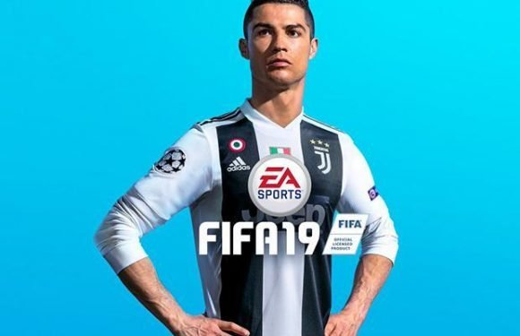 Cristiano Ronaldo announced as cover star for Fifa19 in new Juventus kit