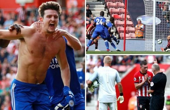 Southampton 1 Leicester 2 watch highlights: Demarai Gray nets first goal in 29 games as Leicester fight back to beat ten-man Saints