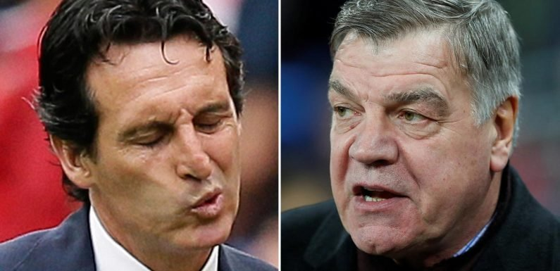 Unai Emery blasted by Sam Allardyce after Arsenal's opening day defeat to Man City