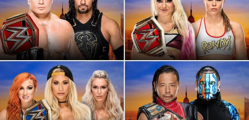 WWE SummerSlam predictions: Lesnar vs Reigns would sink without Strowman and Ronda Rousey will win title