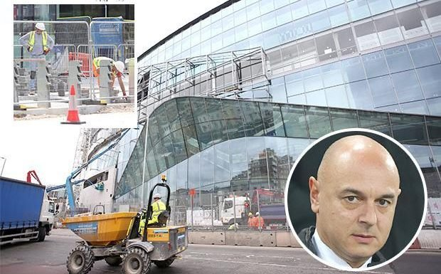 Tottenham Hotspur issue desperate plea for TEN electricians as club fear new stadium will not be ready for three months