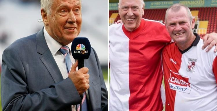 Sky Sports commetator Martin Tyler speaks out after being attacked by fan during Wealdstone vs Woking match