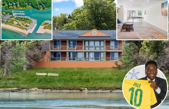 Brazil legend Pele sells exclusive Hamptons mansion owned for 40 years for £2.2million complete with six bedrooms and outdoor pool