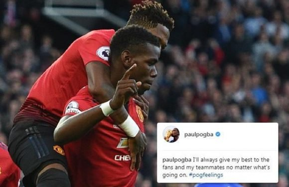 Manchester United star Paul Pogba sparks further talk of Jose Mourinho feud with Instagram post after 2-1 win over Leicester