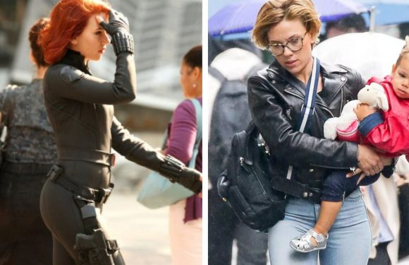 20 Photos Of Scarlett Johansson Juggling Her Career And Motherhood