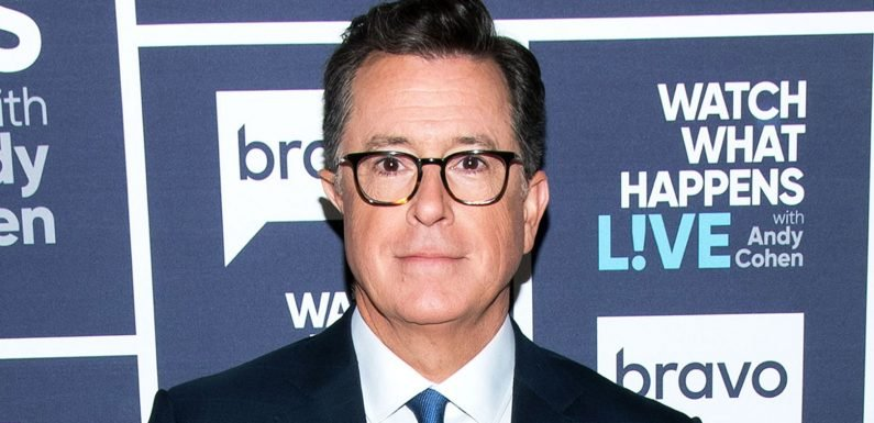 Stephen Colbert Had a 'Nervous Breakdown' After He Got Married