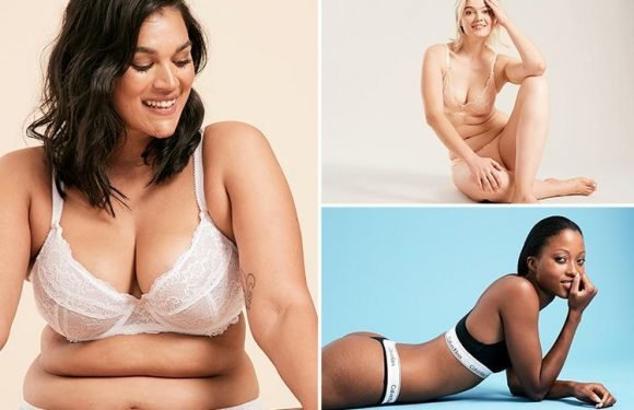 Figleaves are using models of all shapes and skin tones for their latest lingerie campaign… and no photoshopping allowed