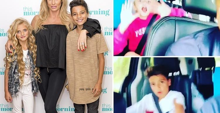 Katie Price 'overjoyed' as she finally speaks to Princess and Junior after publicly begging ex Peter Andre to contact her