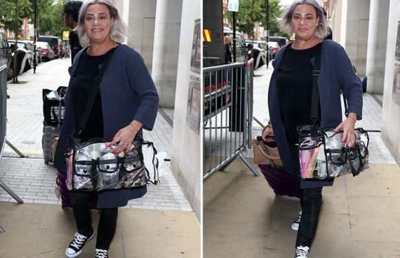 Ant McPartlin's ex Lisa Armstrong beams at Striclty Come Dancing launch with stars
