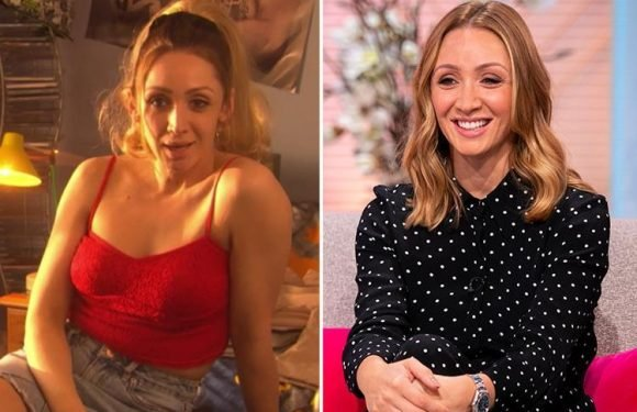 Hollyoaks' Lucy-Jo Hudson calls her character Donna Marie 'nasty' and reveals she struggles to get into character as a prostitute