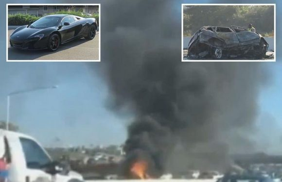 McSkillet dead – YouTuber dies in 'suicide smash' as £155k McLaren ploughs into oncoming cars at 100mph killing three