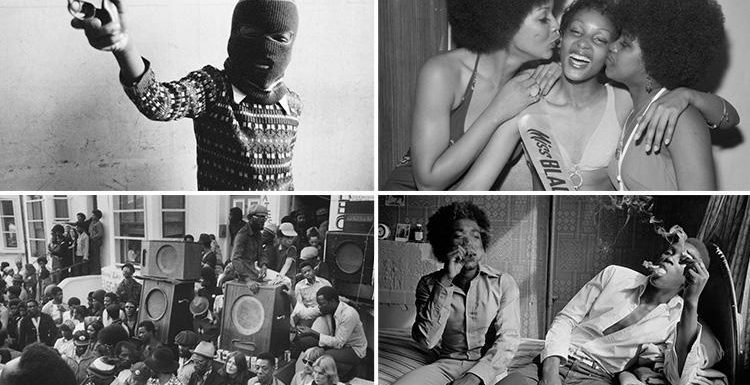 From gun-toting gangsters to beauty queens these stunning images show London's black communities in the 1970s and 80s