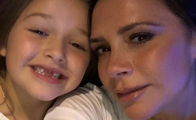 Victoria Beckham reveals Harper's new hair style – and it's just like David's!