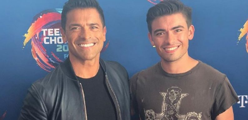 7 Pictures of Mark Consuelos's Son That Prove He's the Spitting Image of His Famous Father