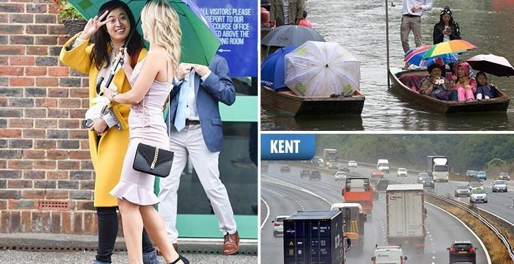 Thunderstorms and torrential rain to batter Britain this weekend as Storm Debby sweeps over the Atlantic