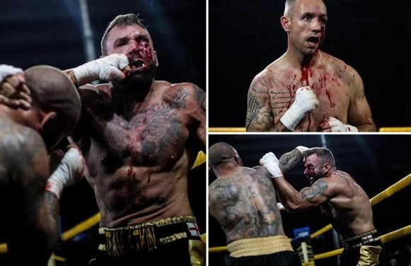 Brutal underground world of British bare-knuckle boxing revealed in shocking pictures