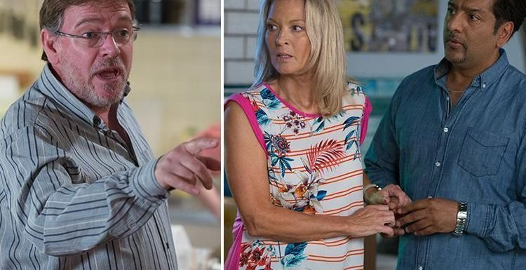 EastEnders spoilers: Ian Beale kicks out mum Kathy after he catches her kissing Masood Ahmed