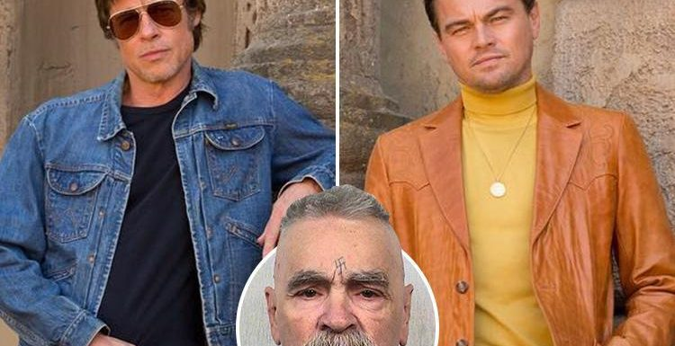 Charles Manson slams Brad Pitt and Leonardo DiCaprio from beyond the grave for starring in new movie about him, never before heard prison calls reveal