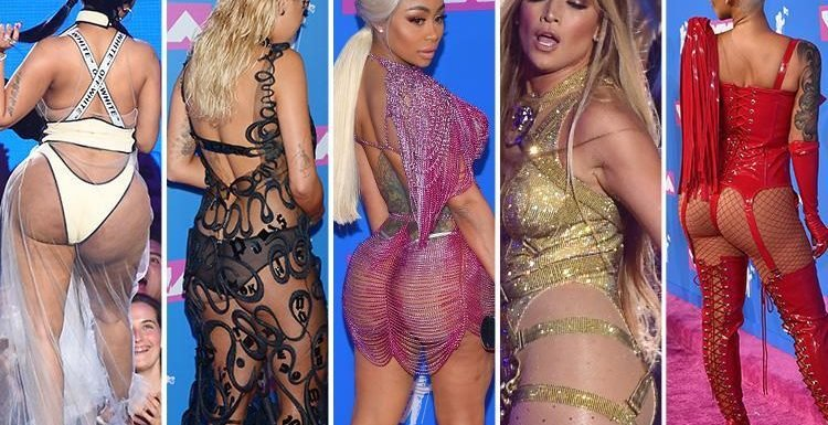Last night's MTV VMAs was a battle of the bums…with Rita Ora, Nicki Minaj and J-Lo all daring to bare