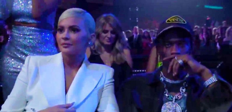MTV VMA viewers slam Kylie Jenner as 'disrespectful' as she looks bored through Jennifer Lopez's performance